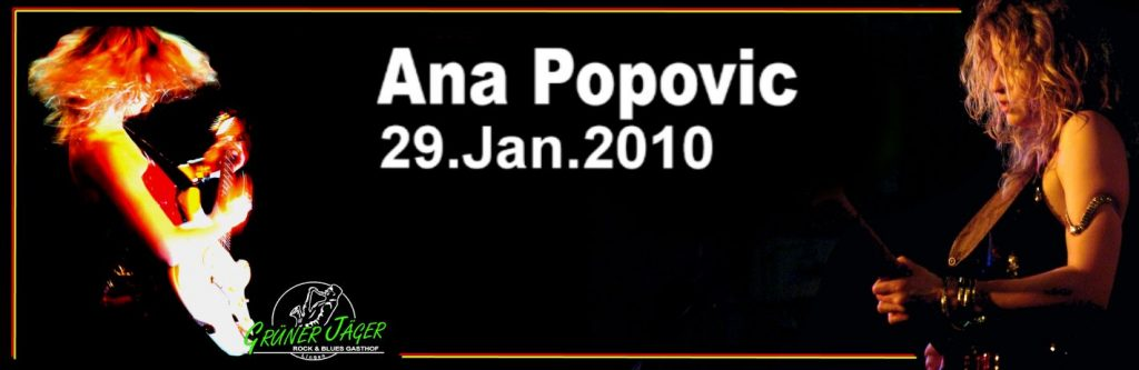 Grüner Jäger Ana Popovic 2010