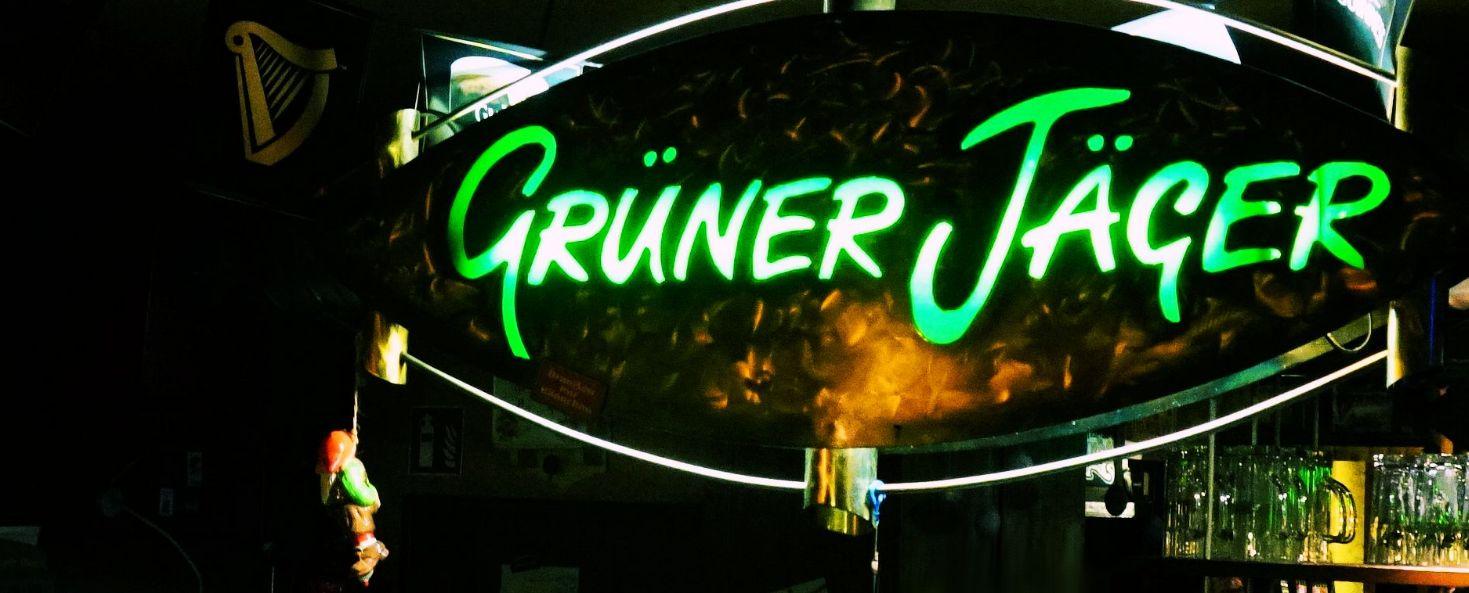 Grüner Jäger Banner