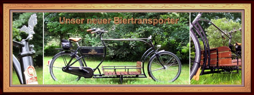 Grüner Jäger Biertransporter