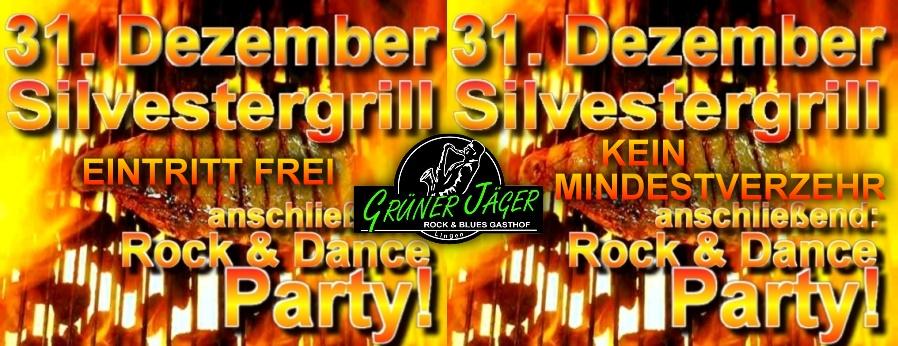 Grüner Jäger Silvester Grill