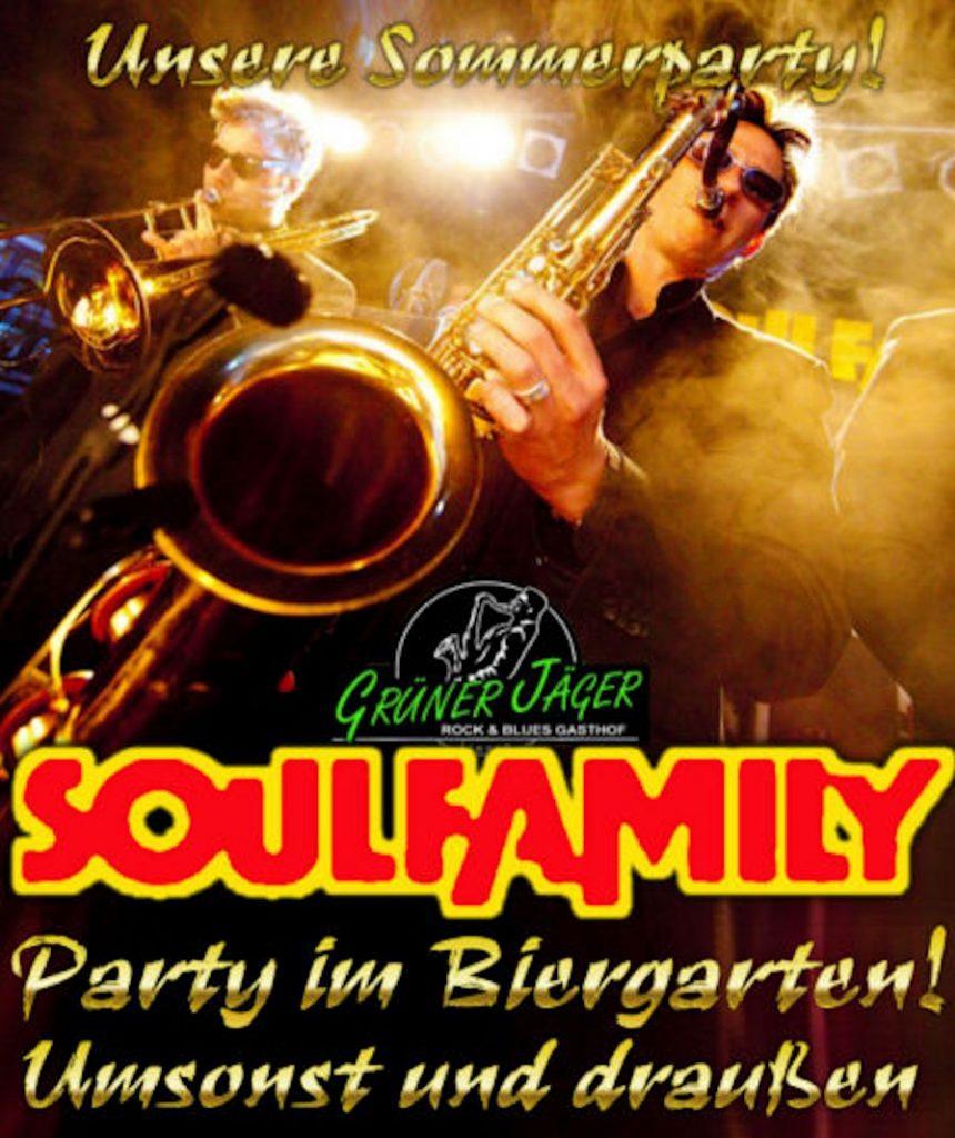 Grüner Jäger Soulfamily Sommerparty