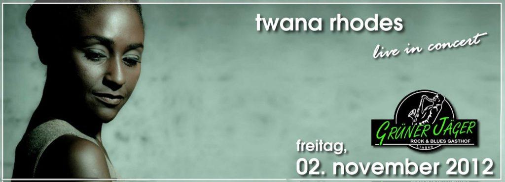 Grüner Jäger Twana Rhodes 2012