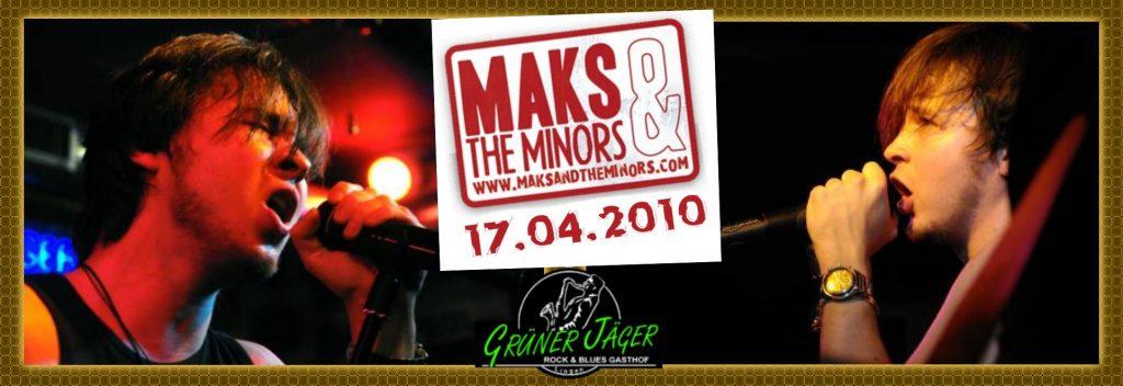 Grüner Jäger MaxAndTheMinors 2010