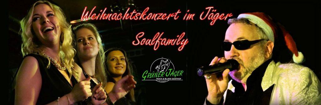 Grüner Jäger Weihnachtskonzert 2015 soulfamily