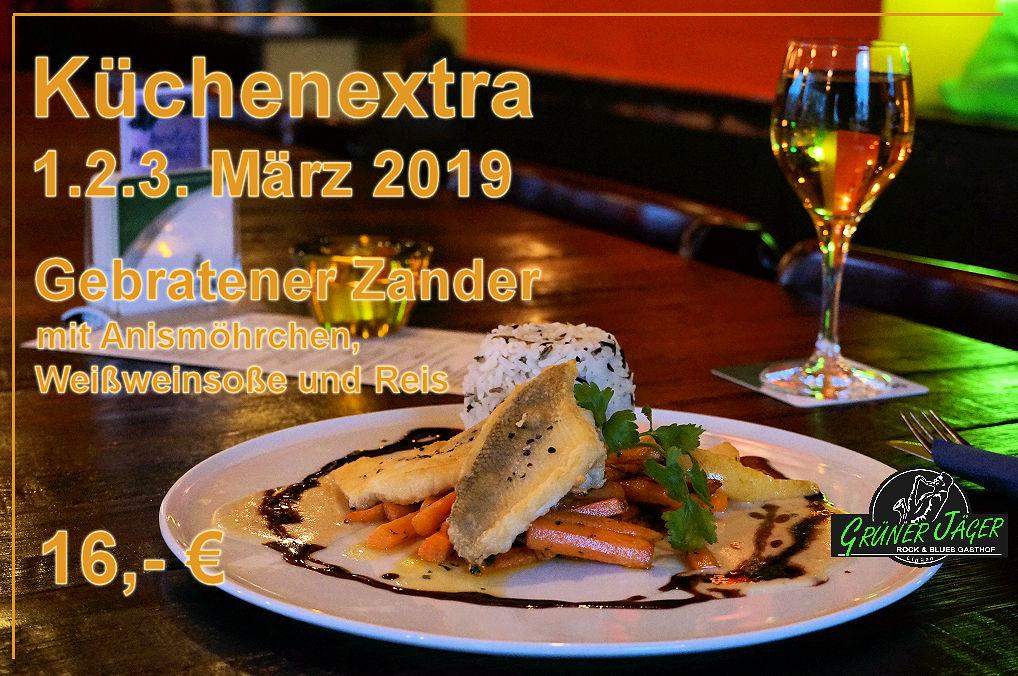 Grüner Jäger Küchenextra Zander2019