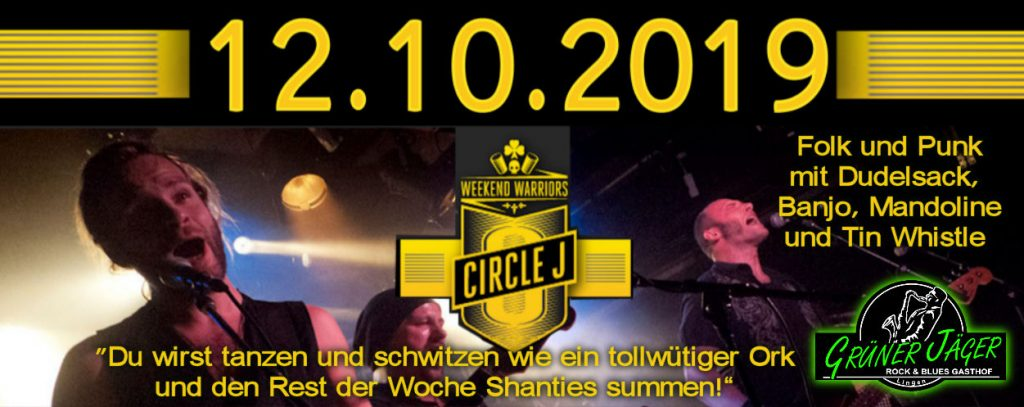 Circle J live im Jäger