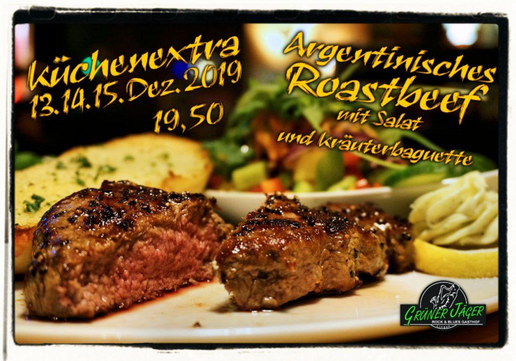 Küchenextra Grüner Jäger Roastbeef