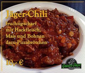 Grüner Jäger Chili-Con-Carne