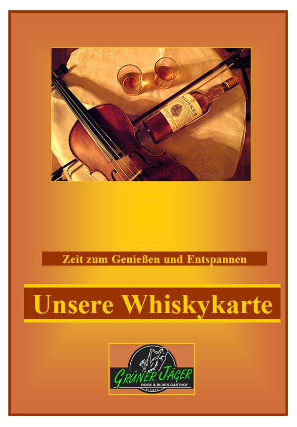 Whiskykarte 01 Titel