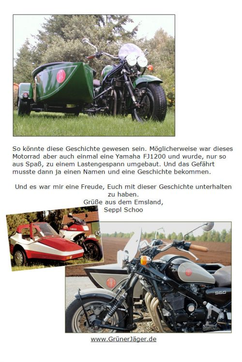 Tatra Gespann Grüner Jäger Lingen